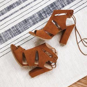 MIX No. 6} Suede Heels 🍂🍂
